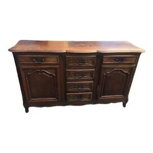 Traditional Antique French Provincial Server/Sideboard/Buffet, 1900's, Oak