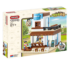 OXFORD Bricks Block TOWN Everytown Cafe Latte Shop Korea Building Toy Blocks