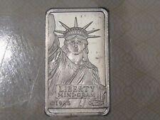 Credit Suisse Valcambi LIBERTY Platinum 1 gram .9995 FINE.  #107
