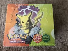 Pokemon Ex Fire Red and Leaf Green Sealed Excellent Condition Booster Box!
