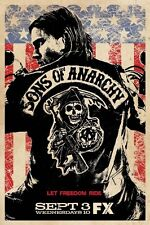 POSTER SONS OF ANARCHY HARLEY DAVIDSON BIKE FX SHOW A1