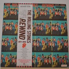 ROLLING STONES - Rewind - 1984 JAPAN LP PROMO SAMPLE