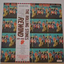 ROLLING STONES - Rewind - 1984 JAPAN LP PROMO SAMPLE