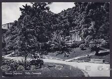 SALERNO NOCERA INFERIORE 06 GIARDINI VILLA COMUNALE Cartolina viaggiata 1962