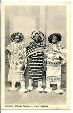 CP AFRIQUE - Zanzibar - Natives Women in arabic Costume
