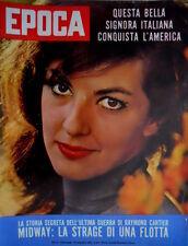 Epoca 625 1962 Storia segreta ultima guerra di Raymond Cartier. Anna Moffo