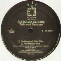 MARQUISE DE SADE - Pain And Freude - E-SA Records - und Sa 22034 - USA