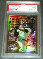 1996 TOPPS FINEST REFRACTOR #146 BARRY BONDS PSA 9 POP 2