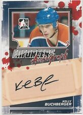 Kelly Buchberger 2011-12 ITG In The Game Enforcers Autographs Card # AKB