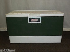 Vintage Picnic Tailgate Party 1978 Large Green Coleman Beer Soda Ice Cooler