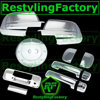 07-13 TOYOTA TUNDRA DOUBLE CAB Mirror+Chrome 4 Door Handle+Tailgate+Gas Cover