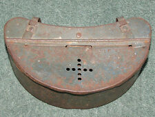 Vintage Kidney Shaped Tin Live Bait Box Belt