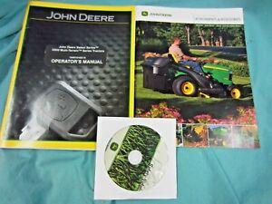 John Deere X500 Multi-Terrain Tractor Manual OMM161629-I9,DVD,Accessories Ads