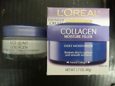 2 L'OREAL - COLLAGEN FILLER MOISTURE - DAY/NIGHT CREAM - EXP: 11/17+ RC 2908