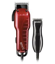 Andis Professional Envy Combo Hair Clipper + T-Blade Trimmer Haircut Kit 66585