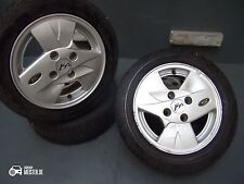 """GENUINE FORD KA Alloy Wheels 14 """" Sunny NEW Winter TYRES 165 60 R14 79T"""