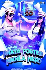 PHATA POSTER Nikla Hero DVD (Shahid Kapoor, Salman Khan...) Bollywood