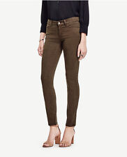 Ann Taylor - Size 12 (LARGE) Dark Valley Green Modern Skinny Jeans $89.00 (53)
