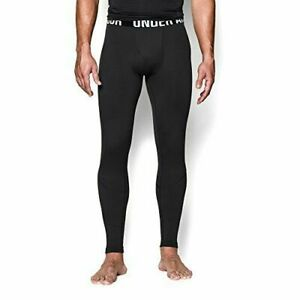 NWT Under Armour Men's 3XL Tactical Coldgear Infrared Black Leggings Fitted pant