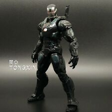 "2017 Marvel 6.3"" Game War machine toy Hot Action Statue Figure Crazy Toys"
