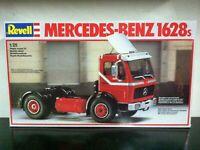 Revell Kit di Montaggio 1:25 7409 MERCEDES-BENZ 1628s Truck w SPOILER MIB, 2003