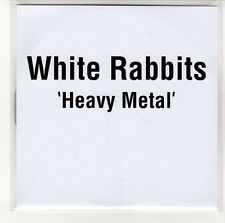 (EN360) White Rabbits, Heavy Metal - 2012 DJ CD