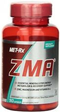 MET-Rx ZMA, 90 count Features Zinc, Magnesium and Vitamin B-6 Dietay Supplement