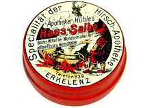 Pharmacy Medical Gnome Cooking Ointment Vaselin Tin 1930s