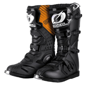 ONeal Motocross Boots MX Rider Off Road Dirt Bike Enduro Boots Black Boots eu42