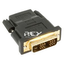 Adaptador  DVI-D (18+1) Macho a HDMI Hembra Conector v227