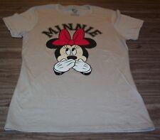 WOMEN'S TEEN Walt Disney MINNIE MOUSE T-shirt MEDIUM NEW