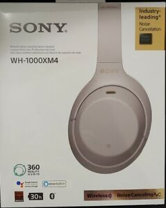 Sony Noise Canceling Wirelss WH-1000XM4 Silver - Brand New Sealed Box- FREE SHIP