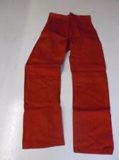 Pantaloni da uomo rossi senza marca