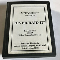 River Raid II (2) / Cart Only / Atari 2600 / Tested & Working / 7800