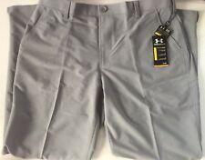 Under Armour Mens Golf Pants Grey Gray 40 x 32 Bent Grass NWT UA