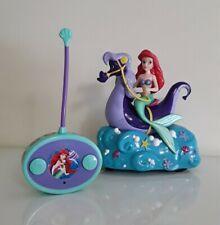 Tested Little Mermaid Ariel & Stormy RC Control Car w/ Remote Seahorse Jada Toy