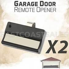 2 For 61LM LIFTMASTER SEARS garage door gate opener car visor remote 750CB 753CB