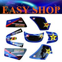 3M Rockstar Stickers Decal Kit Fairing YAMAHA PEEWEE 50 PW50 PY50 PIT DIRT BIKE