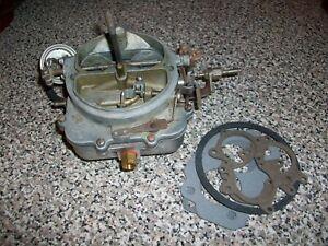 1968 Mopar 383 Carter 2 barrel Carburetor 5599 Dodge Chrysler Plymouth NEW Choke