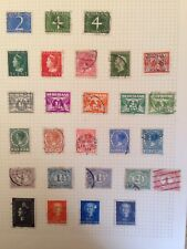 Holland pre & post war postage stamps