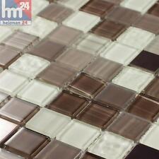 mosaïque Tolima verre métal carreau / mat 29,5 x 29,5 x 0,4 cm