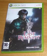Jeu de role RPG XBOX 360 - The last remnant (Square Enix)
