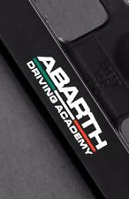 2 x Fiat Abarth Euro License Number Plate Frame Holder