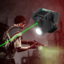 Pistol Green Laser Sight Combo Q5 LED Flashlight for Rifle fit 20mm Weaver Rail