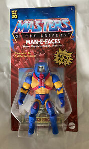 MOTU Origins MAN-E-FACES Unpunched Retro Figure Masters Of The Universe HeMan