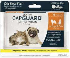 SENTRY Capguard (nitenpyram) Oral Flea Control Medication 2-25lb. (02/2020).