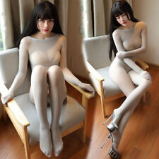 Fully Seamless Bodyhose Bodystocking Catsuit Nylons Bodysuit Sheer Body Stocking