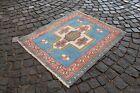 Turkish rug, Handmade rug, Area rug, Vintage rug, Bohemian rug | 3,0 x 3,5 ft