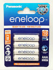 Panasonic Eneloop New 2100X AAA Ni-MH Pre-Charged Rechargeable Batteries 4 Pack