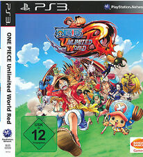 One Piece Unlimited World Red Strohhut Edition Sony PlayStation 3 Bandai OVP